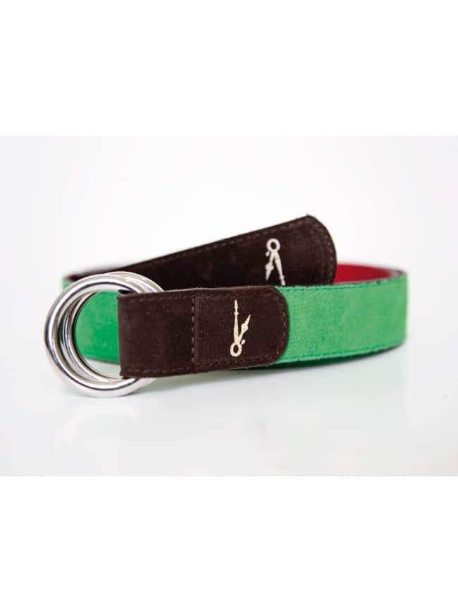 CINTURON GREEN & RED