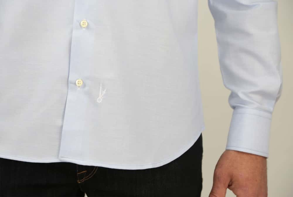 CAMISA OXFORD SKY BLUE